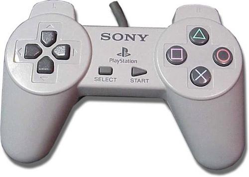 由于专利的存在,索尼PlayStation手柄